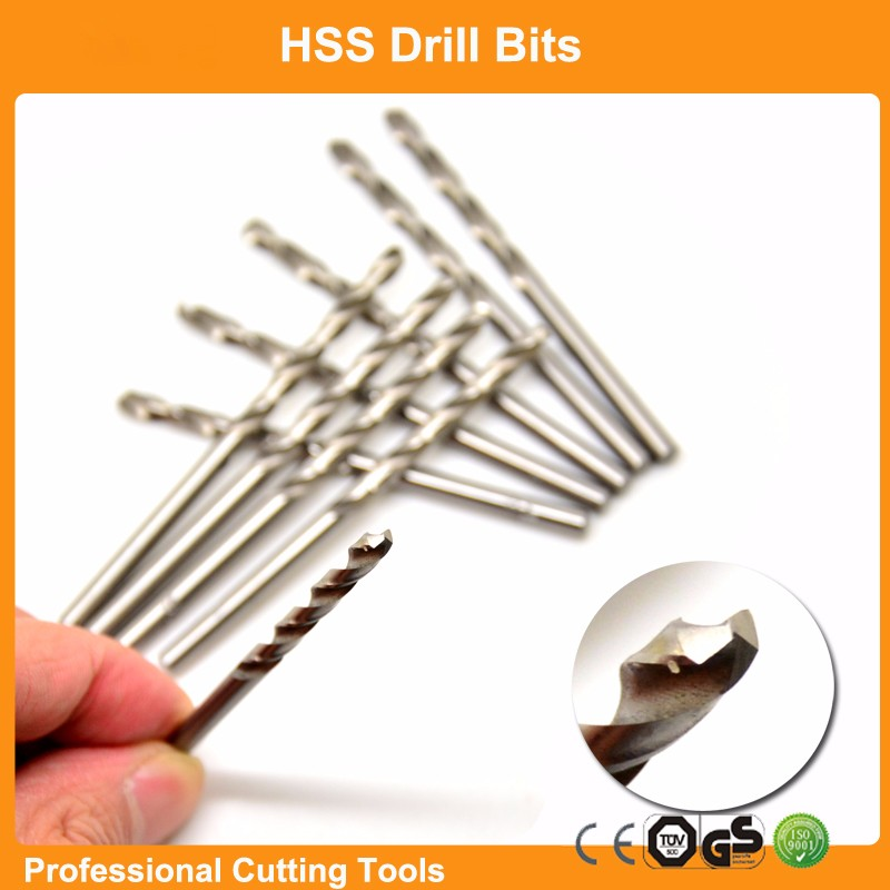 HSS M2(6542#) Metric 3.5mm DIN338 Fully Ground Twist Drill Bits For Metal working,Free Shipping,GS,TUV certificated<br><br>Aliexpress