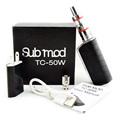 Electronic Cigarette newest subtech TC50B 2 0ML Atomizer 60W 2800mAh Temperature Control Battery E Cigarette Sub