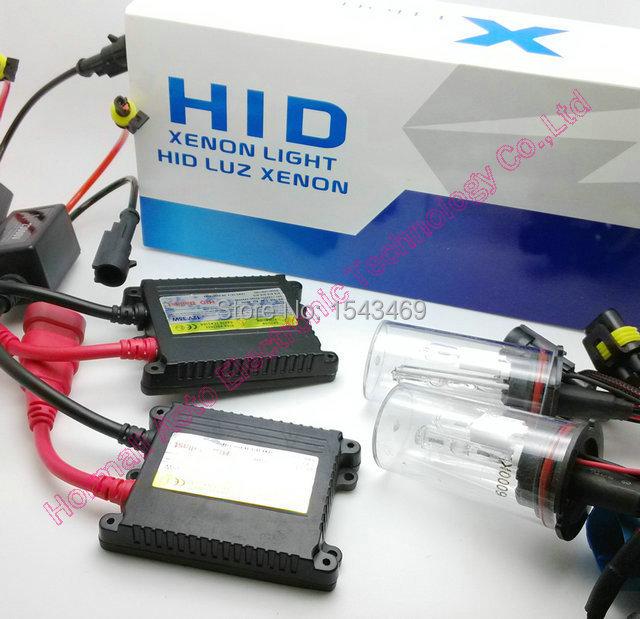 1set H1 H3 H4-1 H7 H8 H9 H10 H11 9004 9005 9006 9007-1 880 Single beam HID KIT SET 35W HID XENON Light 12V hid conversion kit(China (Mainland))