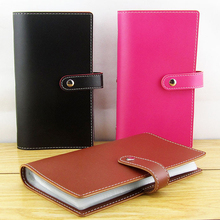 ODEMA 120 Slots Card Holder Top Quality Genuine Leather Business Credit Card Case Women Men Card Holder Wallet Card Package