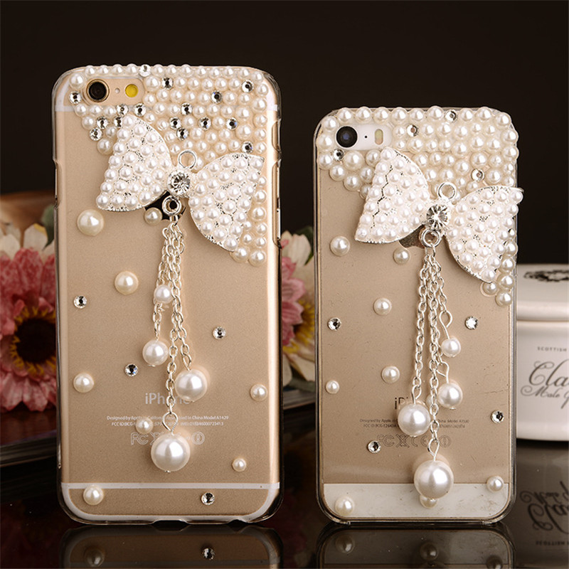 Luxury Bling Rhinestone Diamond Silicone Phone Case for iPhone 5 5S SE 6 6S 7 Plus Soft TPU Clear Mobile Phone Case Back Cover(China (Mainland))