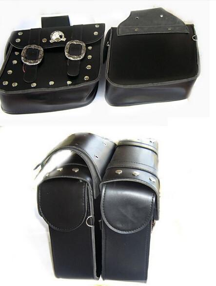 Мотоциклетная кожаная сумка для сидений Generic 2 Harley