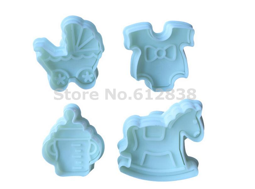 3D Cake molds wedding decoration 1 set Baby furniture shape,cake Cookie Mold ,die manual work(Free shipping) 020053(China (Mainland))