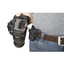 1/4″ Screw Camera Waist Spider Belt Holster Quick Strap Buckle Dull Polished Surface for DSLR Digital SLR Camera