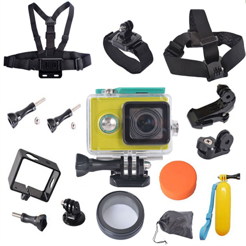 For Xiaomi Yi Accessories Waterproof Case Float Bobber Monopod Frame Mount Case Set For Xiaomi Yi Action Camera Accessories<br><br>Aliexpress