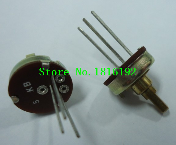 Imported shell diameter 13 type game toy airplane imports 5K potentiometer 180 degrees long legs(China (Mainland))