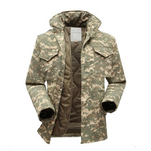 M65 military tactical jacket for men army fan windbreaker jacket plus size with inner military fans winter jacket men clothing(China (Mainland))