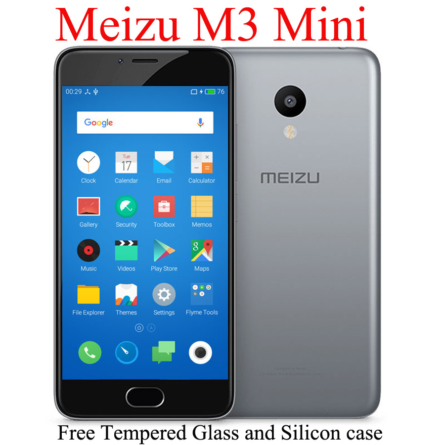 "In Stock! Original Meizu M3 Mini 4G LTE Cell Phone MTK 6750 Octa Core 5.0"" Screen 2GB RAM 16GB ROM(China (Mainland))"