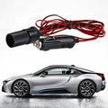3M 12V 24V Car Cigarette Lighter Power Plug Socket Cord Adapter Extension Cable