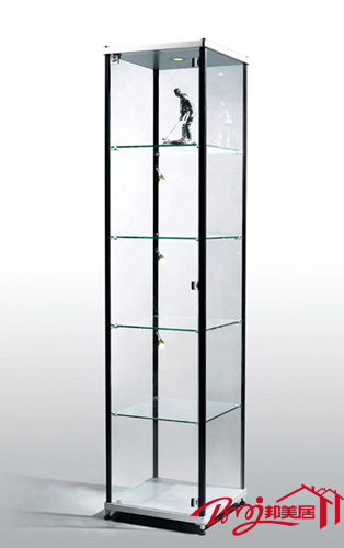 Meiju brief modern furniture accessories display cabinet glass showcase modern wine cabinet b023b