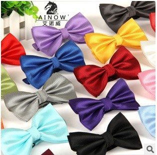 Гаджет  New 2014 Men  Fashion Polyester Silk Bow Tie Plaid Bow Ties Married Casual Butterfly Cravat Bow Tie Neckwear Free Shipping LJ-XW None Одежда и аксессуары