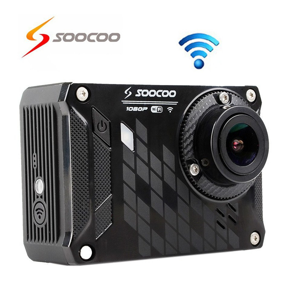 Waterproof SOOCOO S33WS Pro WiFi Sport Action Camera 1080P HD 16MP Car DVR Mini Camcorders HD DV Helmet Cameras Sports Cam(China (Mainland))