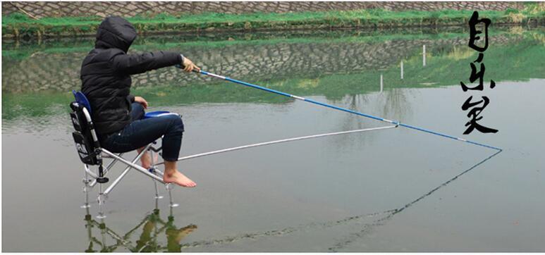 Anti- shake fishing chair multifunctional portable folding stool fishing gear supplies(China (Mainland))