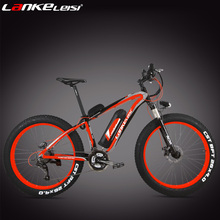 27 Speed 26 Inch Lithium Battery Electric Bicycle, 4.0 Width Wheel Mountain Bike Snow Bike,adopt 6061 Aluminum Alloy Frame(China (Mainland))