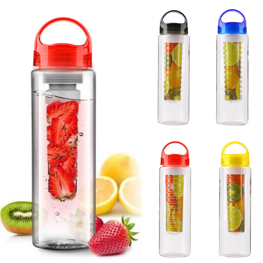Portable 800ML cap Fruit Infusing Infuser Water Bottle with box Sports Health Lemon Juice Make Bottle Drop Shipping Wholesale(China (Mainland))