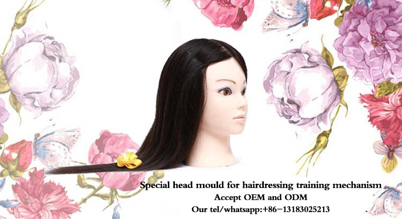 10Inch 100% Human Hair Male Training Mannequin Head For Hairdressers Men Mannequin Head With Human Hair Manequim Head Dummy Head