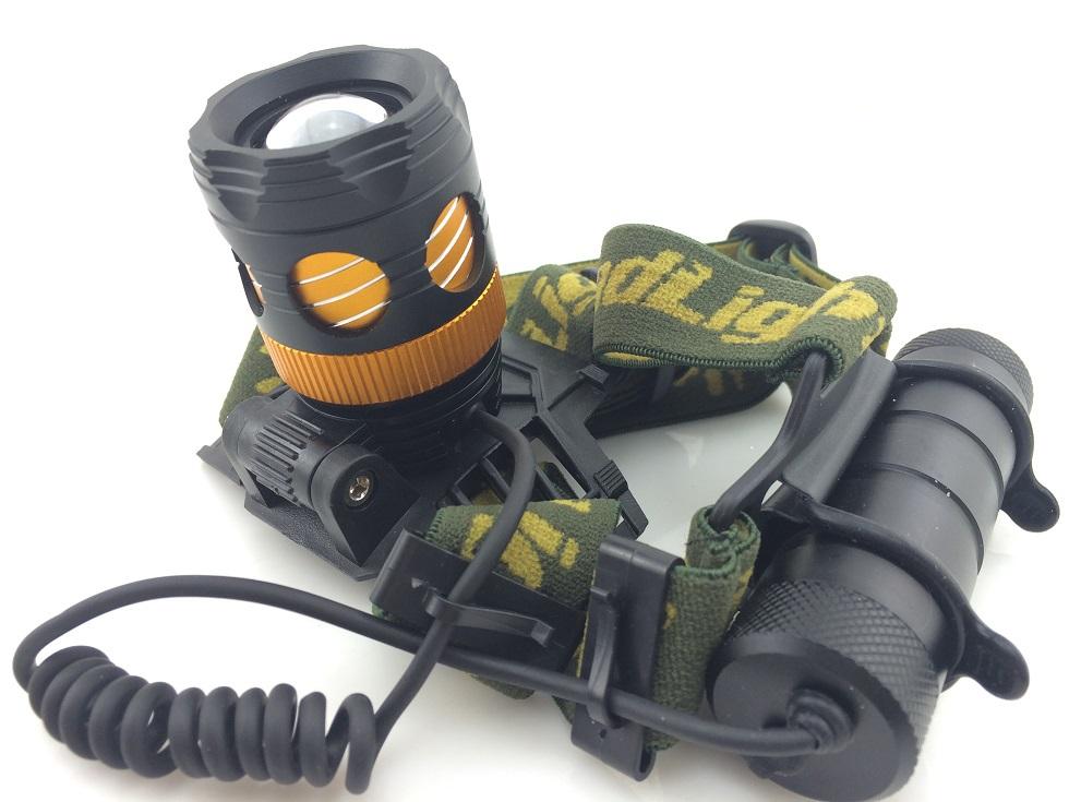 Retractable zoomable XML T6 flashlight headlight head lamp fishing/camping lanternas led cree convoy tactical baton lanternas(China (Mainland))