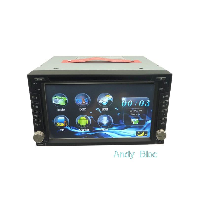 6.2 inch Car DVD Player gprs Android 4.0 system touch screen for Nissan(China (Mainland))