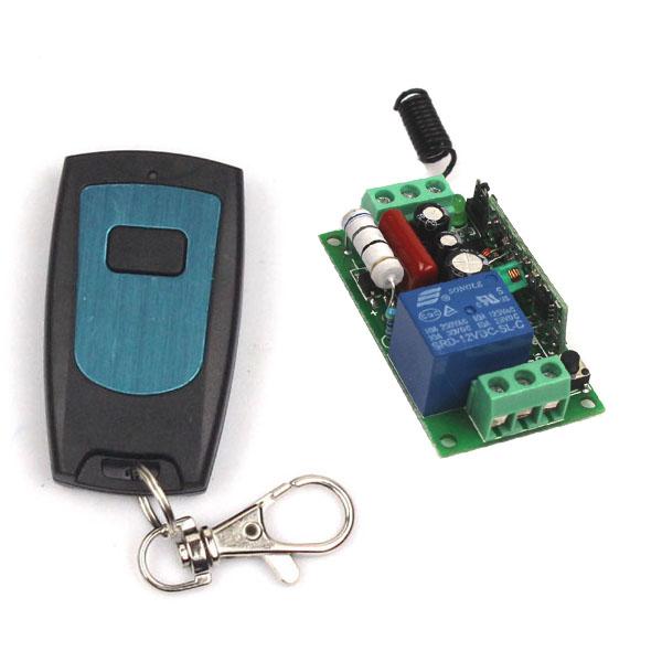Super AC 220V 1CH Wireless RF Remote Control Relay Switch Transceiver+Receiver(China (Mainland))