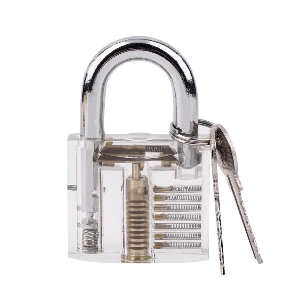 Pick Cutaway Padlock Lock For Lock smith Practice Training Skill Set hot sales(China (Mainland))