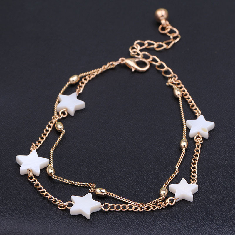 new ankle bracelet  foot jewelry pulseras tobilleras heart simple anklets for women girl gift chaine cheville bracelet cheville