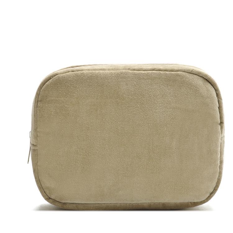 womens vintage cosmetic bags solid make clutch bag travel toiletry wash necessaries organizer organizadores de maquiagem - MS HEDY Women's Bag store