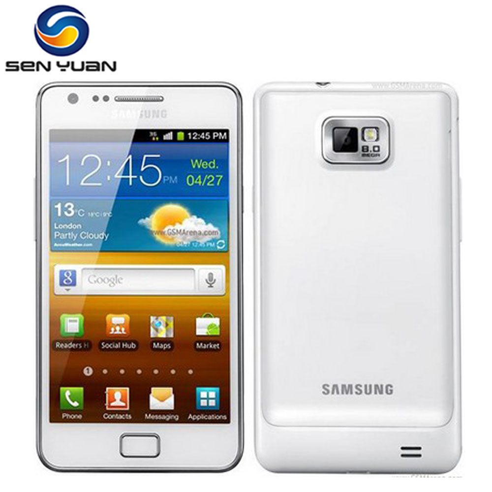 "I9100 Original Samsung Galaxy S2 I9100 GPS 16GB ROM 8MP 4.3"" Touchscreen Smartphone Free Shipping(China (Mainland))"