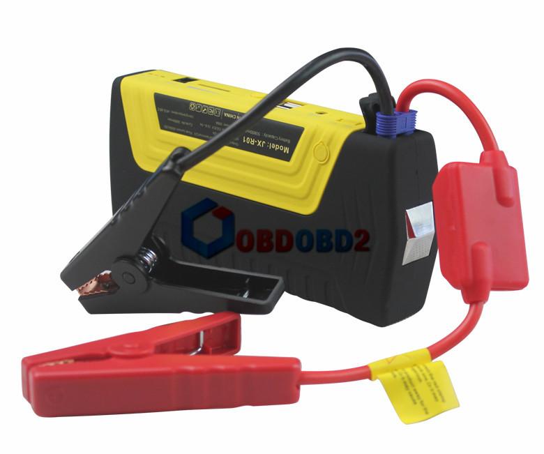 Enhanced 12V Version 50800mAh Car Jump Starter Diesel Gasoline Battery Charger Laptop Phone Power Bank With Safety Hammer Blade