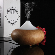 Buy 100ML Wood Grain LED Ultrasonic Humidifier Essential Oil Diffuser Aroma Lamp Aromatherapy Electric Aroma Diffuser Mist Maker for $23.99 in AliExpress store