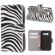 Luxury mobile phone bag Flip With Stand Wallet Style for Alcatel One Touch Pop C5 case