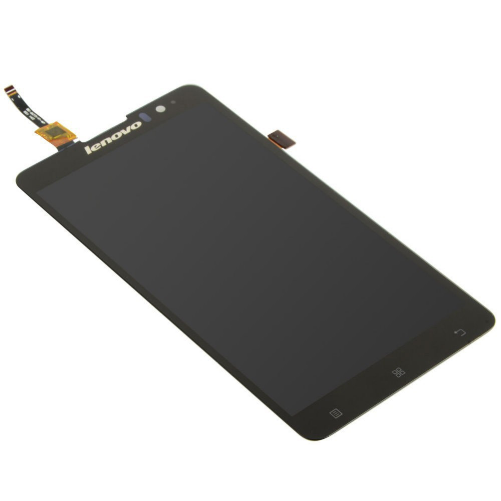 100-Original-New-For-Lenovo-S8-S898t-Black-Full-LCD-Display-Digitizer-Touch-Screen-Assembly-Free