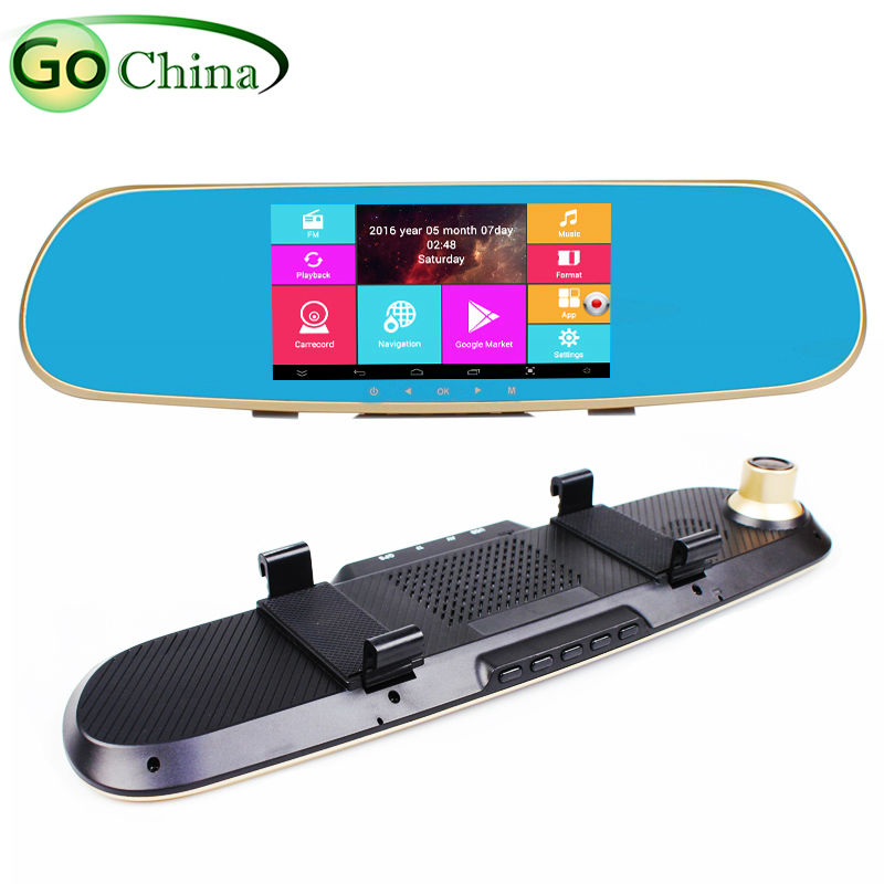 """All In One Android GPS DVR Rearview Camera 5"""" Capacitive Car GPS Navigation Android 4.4.2 Quad Core 1.5GHz Wifi Dual Camera GPS(China (Mainland))"""