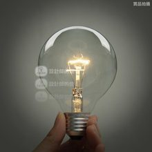 Vintage Antique Incandesence 1901 G95  E27  bulb 110v radiolight Large Squirrel cage Tungsten  light source  bulbs(China (Mainland))