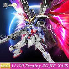 MOMOKO Model Kits New Gundam Seed Destiny MG 1/100 ZGMF-X42S Destiny Mobile Suit Genuine Robot Action Figures kids Anime Toys