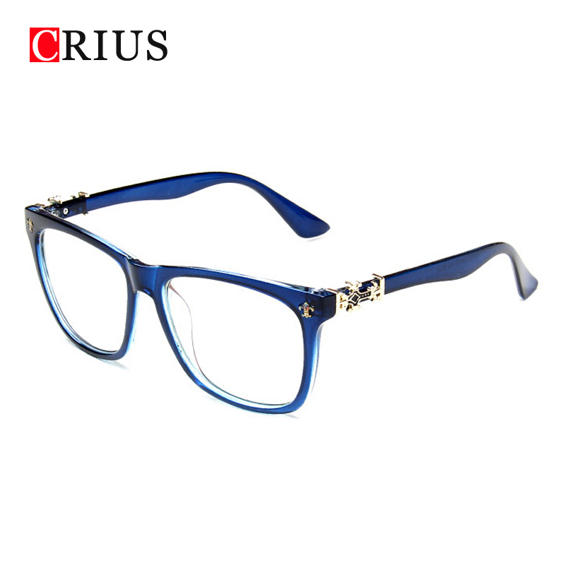 Glasses Frame For Ladies : Womens eyeglasses color Radiation protection green film ...