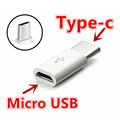 Micro USB Female to Type c Male 3 1 Type C Cable Adapter Charger Data Sync