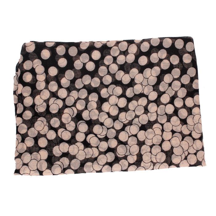 Sheila 2016 Women New Lady Girl  Long Polka Dot Scarf Wraps Shawl Stole Extra Soft Scarves Pink Black Feminino Bufanda Oct12