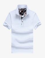 Новые прибыл, 10 цвет короткие классический мужской рубашки поло большой плюс размер m-xxxl летние shirs Мужская рубашка поло