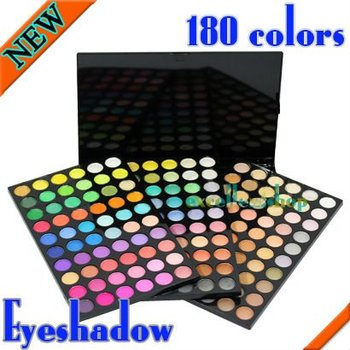 New 180 colors eyeshadow palette professional makeup sets Free shipping