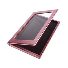 Empty Magnetic Eyeshadow Palette Large Size Freestyle Rose Golden Cosmetic Palette Makeup Tool Kit