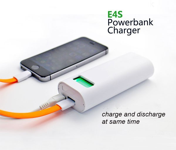Soshine E4S Phone Power Bank USB Battery Charger 18650 LCD Display Li-ion Rechargeable Mobile Cell - Alacrity Electronic Co., LTD store