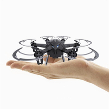 NEWEST I6S 2.4G Radio Control Nano Drone 6 Axis Gyro RC Drone Quadcopter 2MP Camera With LED Light Free shipping
