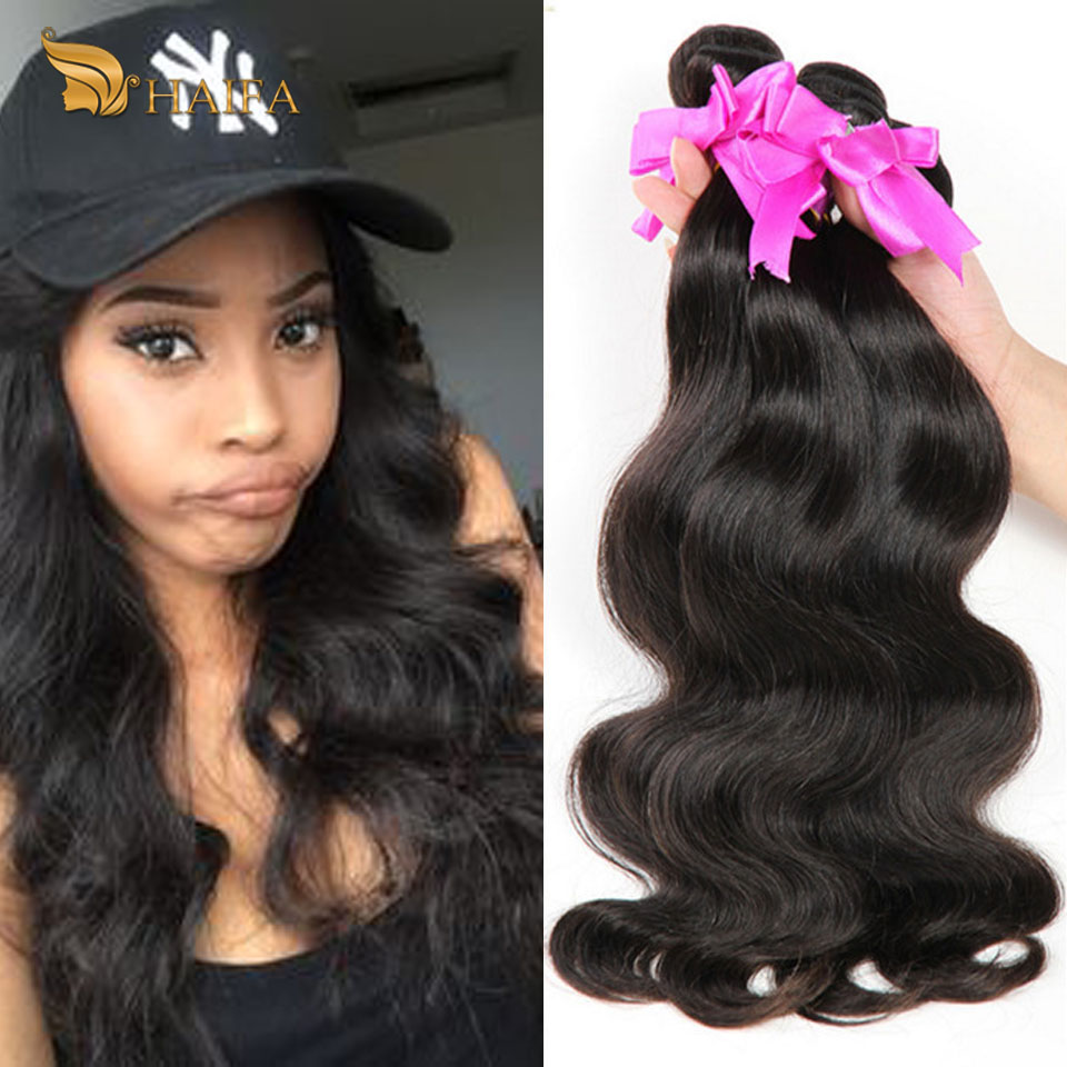 Beauty Forever Brazilian Virgin Hair Body Wave 4 Bundles Brazilian body wave unprocessed wet and wavy Brazilian hair human hair