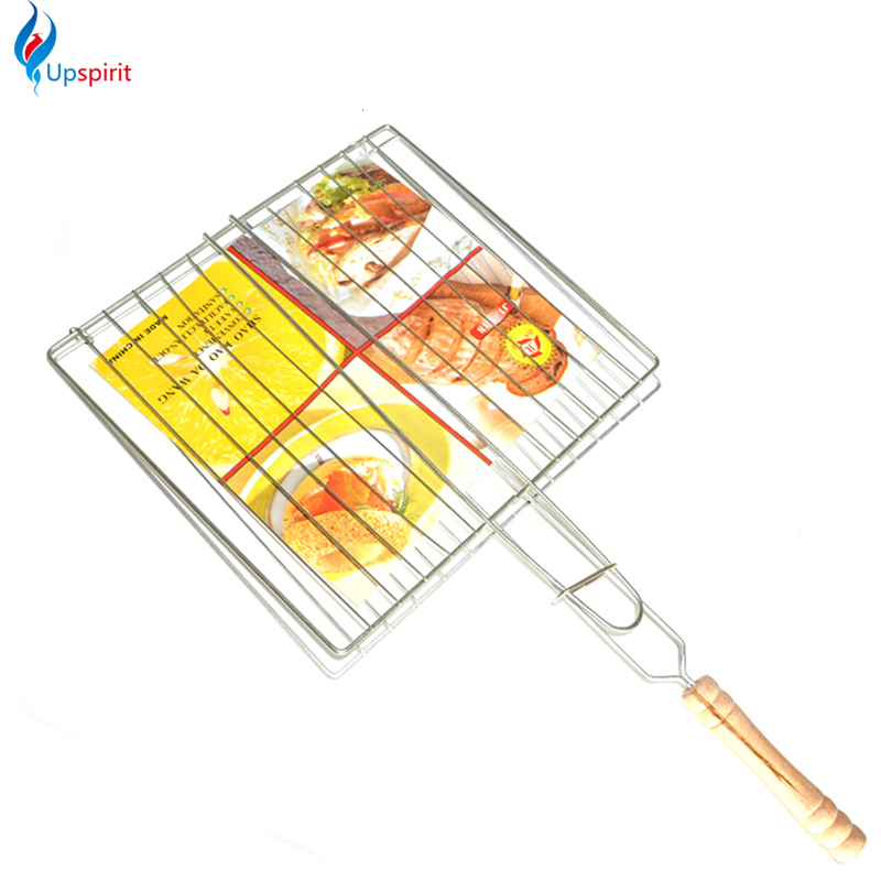 2016 new BBQ tools bbq mesh outdoor camping bbq grill mesh barbecue net tongs clip barbeque meshes bbq accessories cooking tools(China (Mainland))