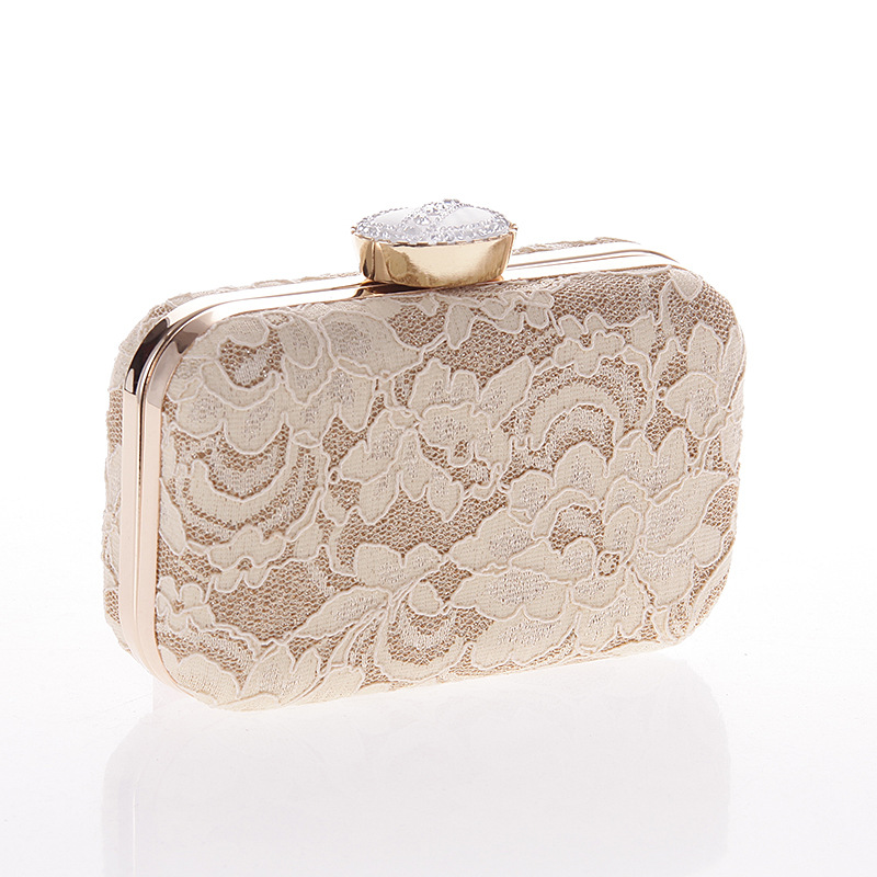 Fashionable lace clutch bag banquet dinner party women fashion handbags<br><br>Aliexpress