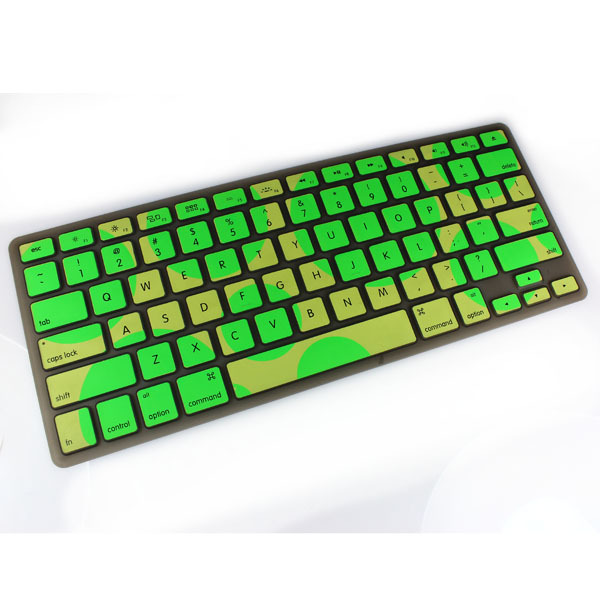 Camouflage Fancy color Silicone Keyboard Cover Skin protector film for aplple Mac Macbook Pro Air Retian13 15 17(China (Mainland))