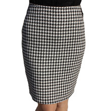 Plus Size New Sexy Women Skirt Suit Autumn Winter Pencil High Waist Short Skirts Womens Cotton Wool Work Plaid Skirt 2016