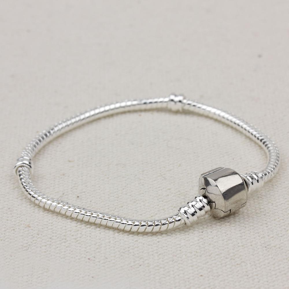 PB004 HOT 925 Sterling Silver Bracelets Women Charm Necklace Set, European Crown Chain,Jewelry Wholesale,Original Snake bracelet(China (Mainland))