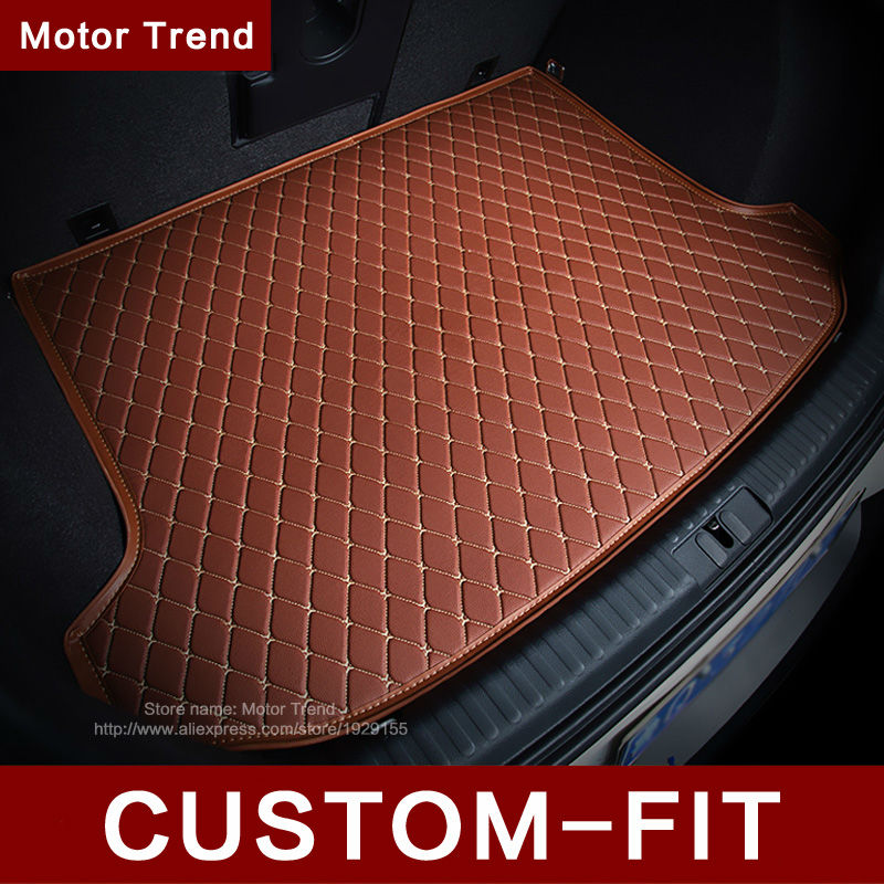 Custom fit car trunk mat for Cadillac ATS CTS SRX SLS Escalade 3D car-styling all weather tray carpet cargo liner <br><br>Aliexpress