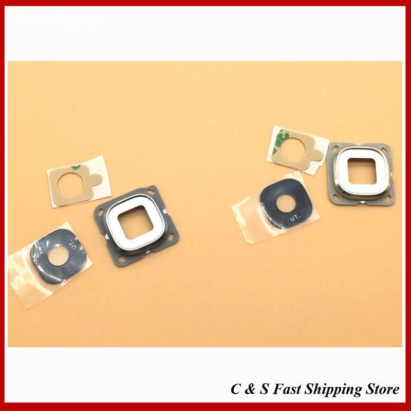 New Original Rear Camera Glass For Samsung Galaxy C5 C7 Back Camera Glass Lens Repair Parts